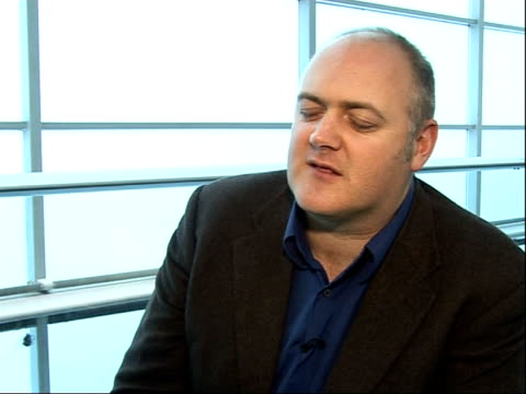 dara o'briain interview o'briain interview sot on chances of hosting the comedy awards - dara o'briain stock videos & royalty-free footage