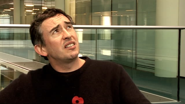 steve coogan interview; - on what he says about tabloid stars in his show / being featured in celebrity gossip magazines and whether he pays... - steve coogan stock videos & royalty-free footage