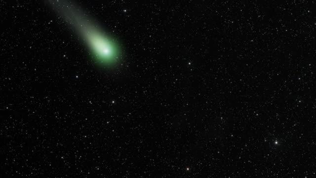 vidéos et rushes de comet en profondeur - météore