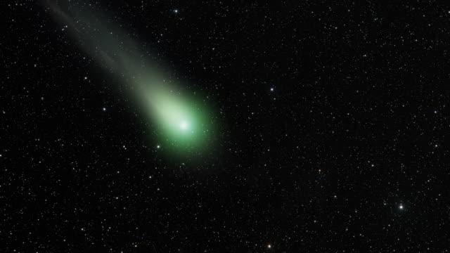 彗星深いスペース - 彗星点の映像素材/bロール