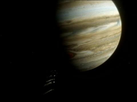 comet shoemaker-levy 9 impacting jupiter. - 彗星点の映像素材/bロール