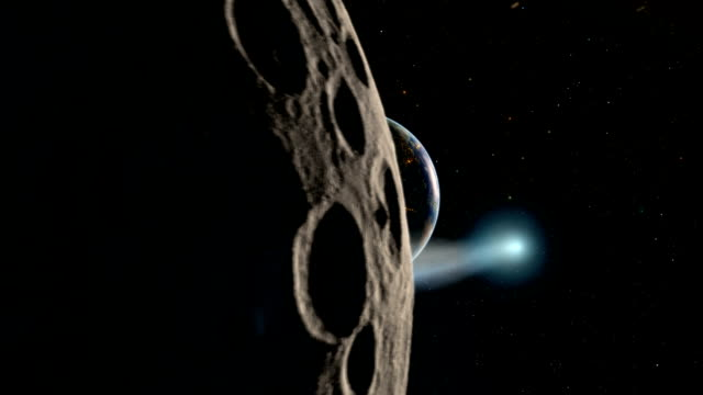comet swarm near earth - impact stock videos & royalty-free footage