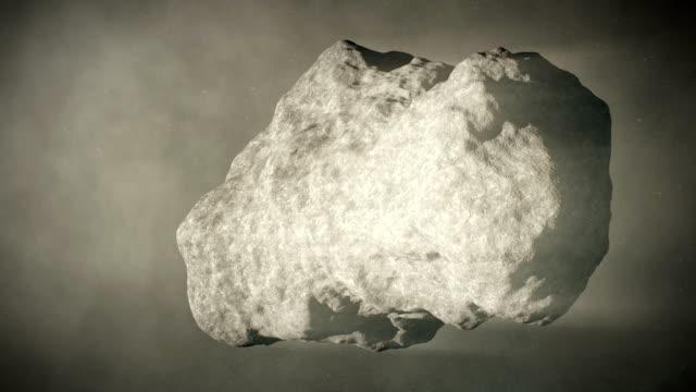 vídeos y material grabado en eventos de stock de cometa - piedra roca