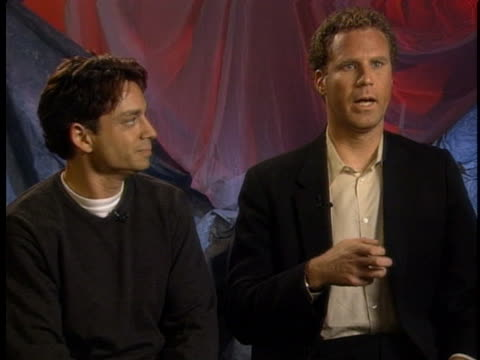 comic actors will ferrell and chris kattan say they mimicked a man in a bar doing the same head bounce as their skit in a los angeles night club. - sketch comedy stock videos & royalty-free footage