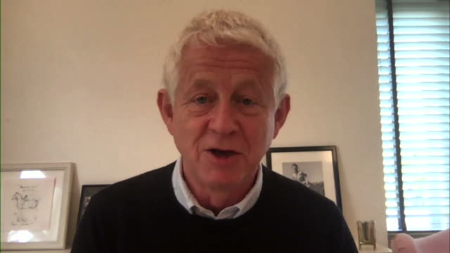 comic relief cofounder richard curtis saying he is really pleased after a primary school in cornwall convinced him to start producing plasticfree red... - satisfaction stock videos & royalty-free footage
