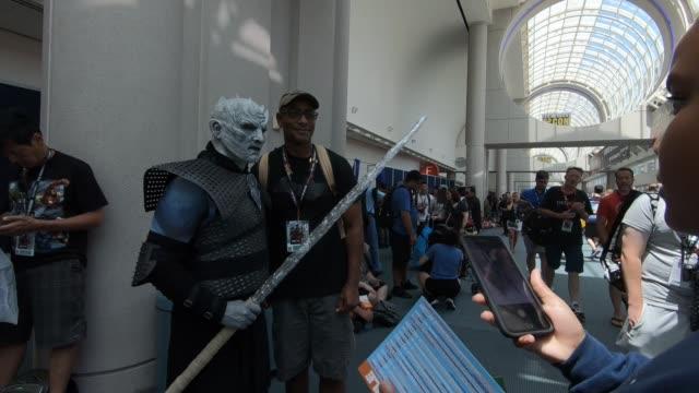 ComicCon on July 22 2018 in San Diego California