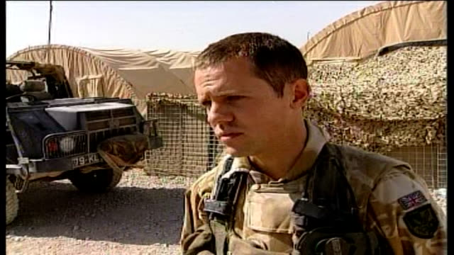 NATO commanders call for more troops Lieutenant Hugo Farrmer interview SOT I've been in situations where I've been six to seven metres away from the...