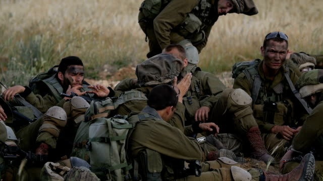 commando army soldiers in training, israel idf / slow motion - israeli military stock videos & royalty-free footage