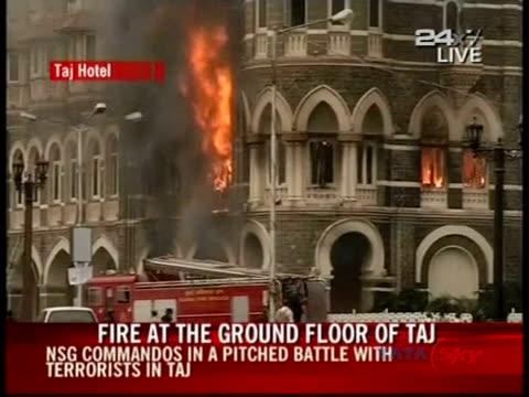 commandos killed three gunmen on saturday in mumbai's taj hotel bringing an end to a twoday islamic militant assault on india's financial capital... - afp stock videos & royalty-free footage