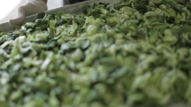 業務用厨房調理 - 青梗菜