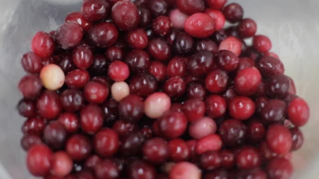 Commercial Kitchen Food Preparation - Cranberries