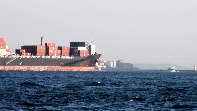 commercial ship - container stock videos & royalty-free footage