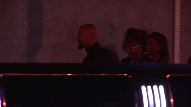 common arrives at hbo's post emmy awards party at pacific design center at celebrity sightings in los angeles common arrives at hbo's post emmy... - emmy awards stock-videos und b-roll-filmmaterial