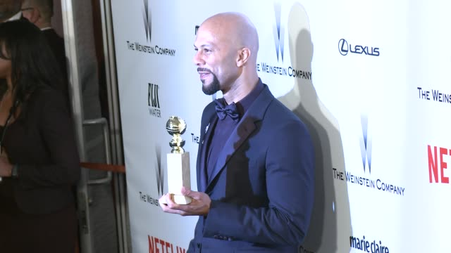 Common at the 2015 Weinstein Company And Netflix Golden Globe After Party at Robinsons May Lot on January 11 2015 in Beverly Hills California