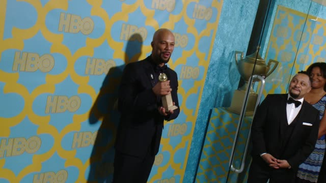 Common at the HBO's Post 2015 Golden Globe Awards Party at The Beverly Hilton Hotel on January 11 2015 in Beverly Hills California