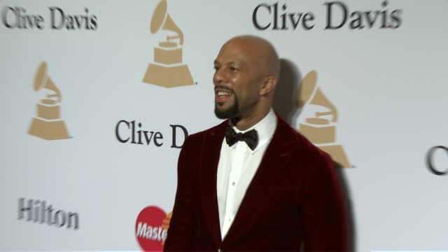 common at the pregrammy gala and salute to industry icons honoring martin bandier at the beverly hilton hotel on february 07 2015 in beverly hills... - the beverly hilton hotel stock videos & royalty-free footage