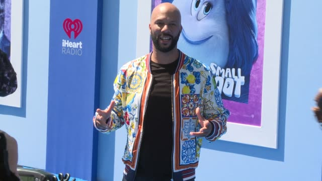 Common at the Smallfoot World Premiere at Regency Village Theatre on September 22 2018 in Westwood California
