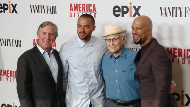 common jesse williams norman lear and mark greenberg at the epix original docuseries america divided a 5part series premiering september 30th at the... - norman lear stock videos and b-roll footage