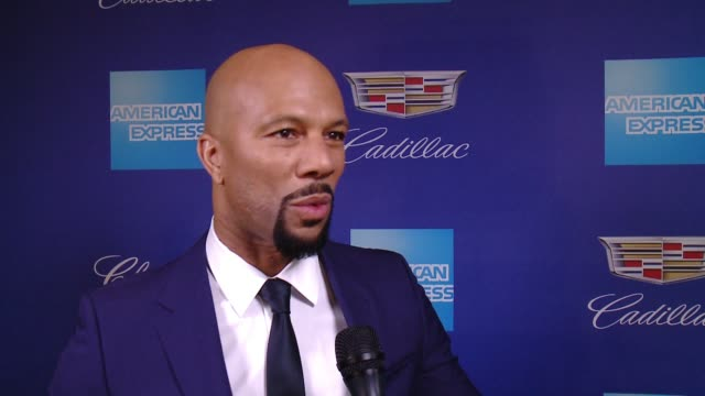 INTERVIEW Common on Palm Springs and Mary J Blige at the 29th Annual Palm Springs International Film Festival Awards Gala at Palm Springs Convention...