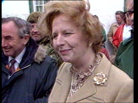 commons committee fails to decide if britain or argentina has stronger legal claim still margaret thatcher - atlantikinseln stock-videos und b-roll-filmmaterial