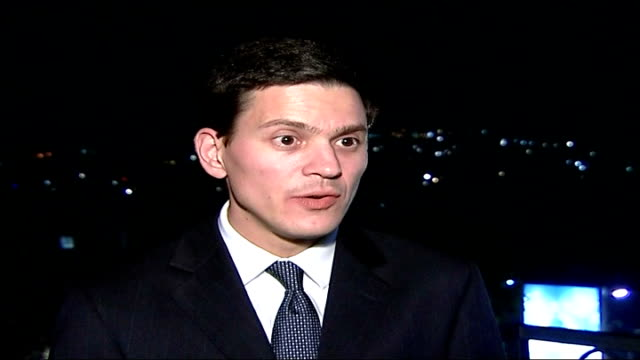 commonwealth conference: pakistan suspended from commonwealth; uganda: kampala: ext / night david miliband mp interview sot - pakistan is failing to... - kampala stock videos & royalty-free footage