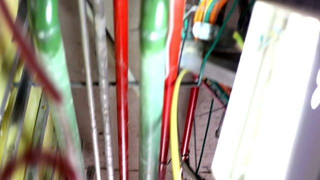 Communication in new building - wires and pipes