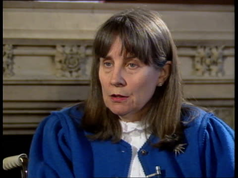 handicapped relatives relief interview baroness marsham of ilton sof would like to see government fund more so there is more security - baroness stock videos & royalty-free footage