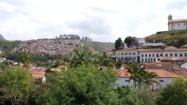 community in ouro preto, minas gerais, brazil - preto stock videos & royalty-free footage
