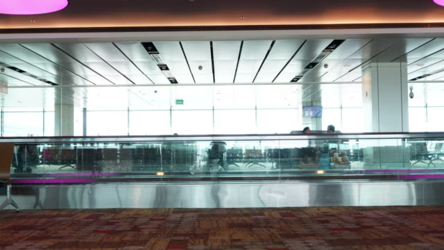 commuter at airport - physical pressure stock videos and b-roll footage