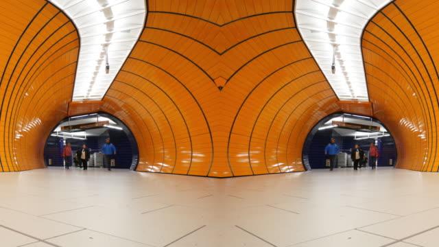 Commuter at Munich subway