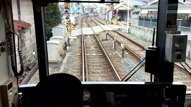 HD VDO: Commuter Train Speeding