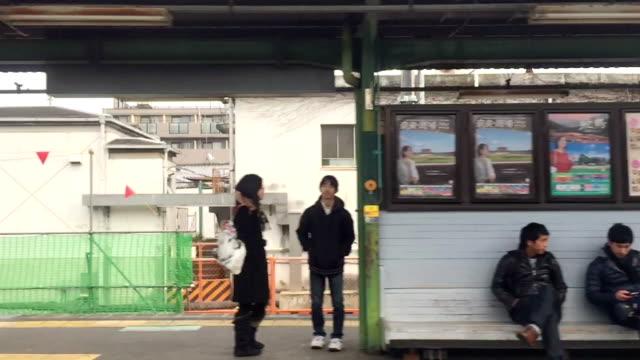 vídeos de stock e filmes b-roll de vdo hd: comboio de passageiros aceleração - hd format