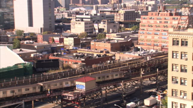 commuter trains run through new york city. - shunting yard stock videos and b-roll footage