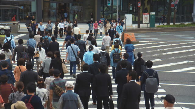 Commuters at Nagoya Station
