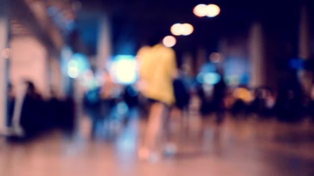 Commuters Walking : Slow motion