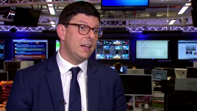 commuting chaos continues in the northwest despite timetable changes england int henri murison interview sot - northwest england stock videos and b-roll footage