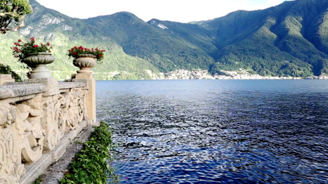 Como Lake panoramic view