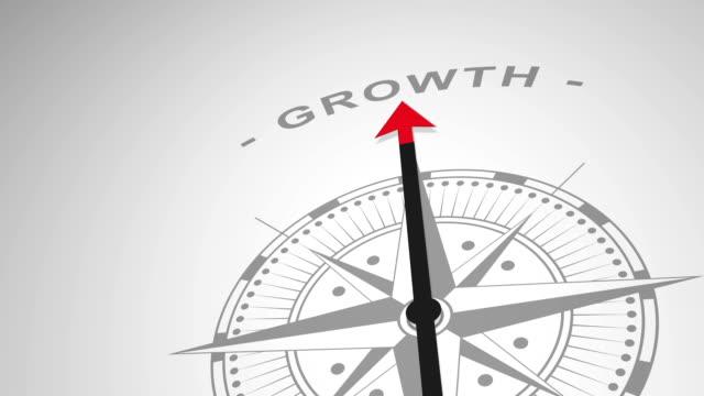 """vídeos y material grabado en eventos de stock de brújula recordar la palabra """"crecimiento"""" - iva"""