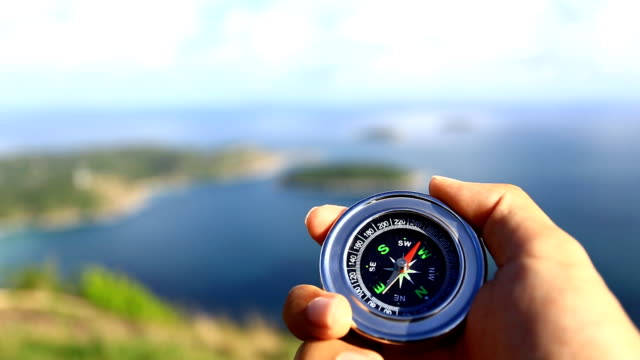 compass - guidance stock videos & royalty-free footage