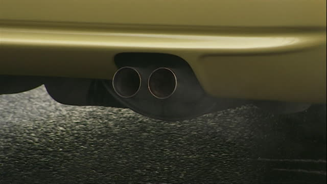 Compilation of car exhaust fumes