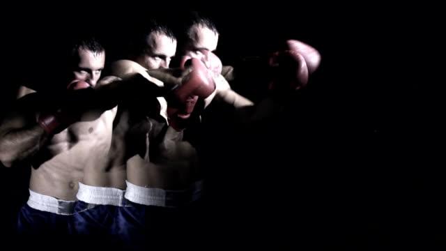 vídeos y material grabado en eventos de stock de hd super lenta missouri: imagen compuesta de boxeo - puñetazo