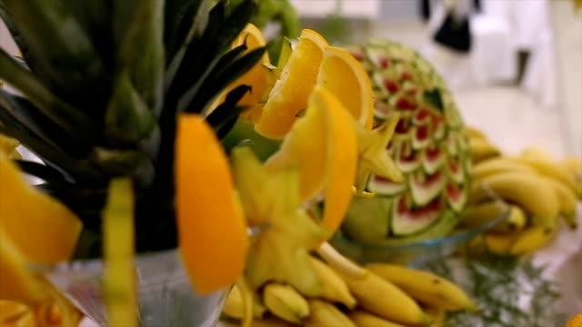 Compositions de fruits frais, sains et rafraîchissants