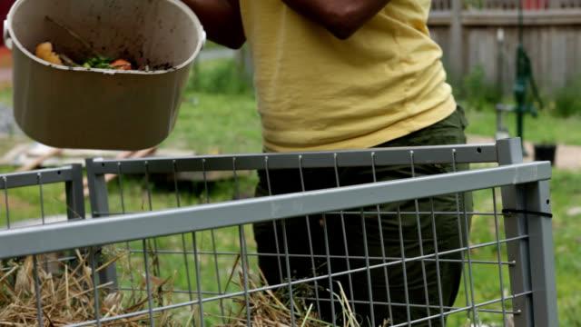 composting. - mull bildbanksvideor och videomaterial från bakom kulisserna