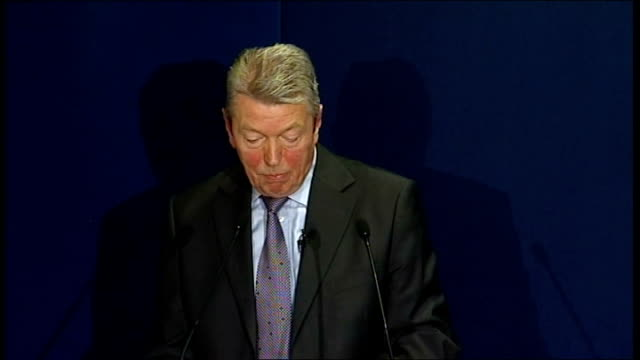 alan johnson speech johnson speech sot it means we can still fund initiatives that are crucial to growth like the future jobs fund / that way we can... - cut video transition stock videos & royalty-free footage