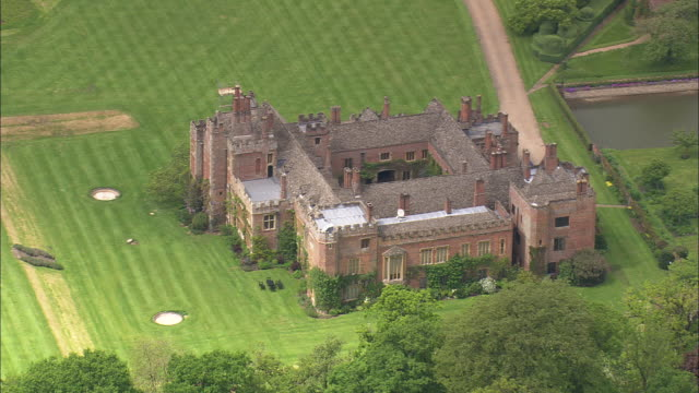 compton wynyates - stately home stock videos and b-roll footage