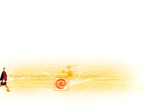 vídeos y material grabado en eventos de stock de computer chip - símbolo de arroba