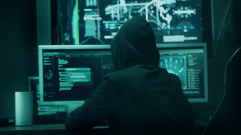 computer hacker - stealing crime stock videos & royalty-free footage