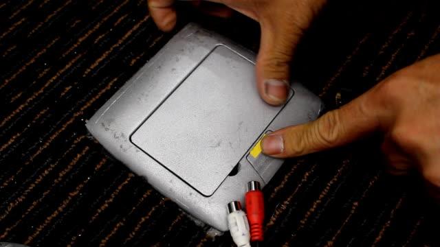コンピュータインレット - ポートワイン点の映像素材/bロール