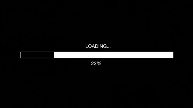 Computer / Internet Loading Bar Animation Graphic 3