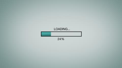 vídeos y material grabado en eventos de stock de computer / internet loading bar animation graphic - cargar